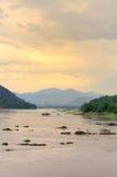 Vue de rivière Image stock