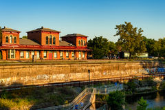 Vue de rivière de Kent Photo stock