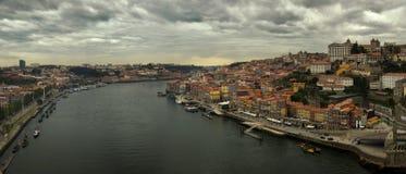 Vue de rivière de Porto et de Douro, Portugal Photographie stock