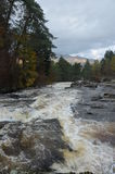 Vue de rivière Dochart Photographie stock libre de droits