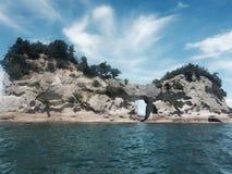 Vue de roche Photo libre de droits