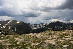 Vue de Rocky Mountains de traînée Ridge image stock