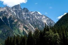 Vue de Rogers Pass photo libre de droits