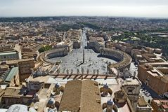 Vue de Rome Photo libre de droits
