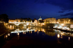 Vue de Rome Photos stock