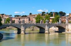 Vue de Rome Image libre de droits