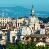 Vue de Rome Images libres de droits
