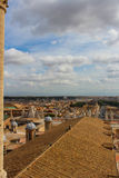 Vue de Rome de Vatican Photos libres de droits