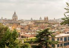 Vue de Rome, Italie Images libres de droits