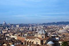 Vue de Rome - l'Italie Photos stock