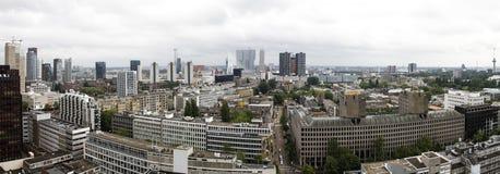 Vue de Rotterdam Images libres de droits