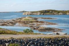 Vue de route atlantique Images libres de droits