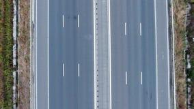 Vue de route de bourdon banque de vidéos