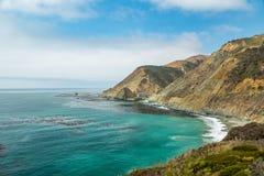 Vue de route de Côte Pacifique Image libre de droits