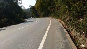 Vue de route de Shillong photographie stock libre de droits