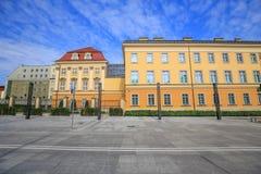 Vue de Royal Palace à Wroclaw/en Pologne photographie stock