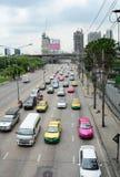 Vue de rue à Bangkok, Thaïlande Photos stock