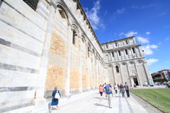 Vue de rue à Pise, Italie Photographie stock libre de droits