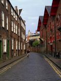 Vue de rue à York, Royaume-Uni Photos stock
