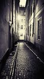 Vue de rue Image libre de droits