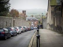Vue de rue, Arundel, le Sussex occidental images libres de droits