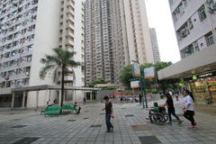Vue de rue dans le tseung o kwan photographie stock libre de droits