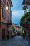 Vue de rue de Bellagio Image libre de droits