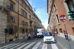 Vue de rue de l'Italie Rome Photo libre de droits