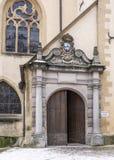 Vue de rue de la ville du Luxembourg Images stock