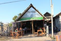 Vue de rue de lac Inle dans Myanmar Images stock