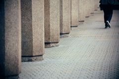 Vue de rue de Londres Images stock