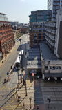 Vue de rue de Manchester image stock