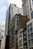 Vue de rue de New York Manhattan Photographie stock