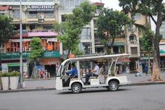 Vue de rue du Vietnam Hanoï Image libre de droits