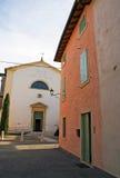 Vue de rue sur l'église. Image libre de droits