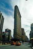 Vue de rue sur la 5ème avenue à New York Image stock