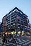 Vue de rue, ville de Seongnam, Corée photos libres de droits