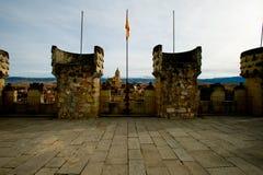 Vue de Ségovie Photo libre de droits