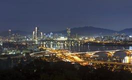Vue de Séoul Corée du Sud Photo stock