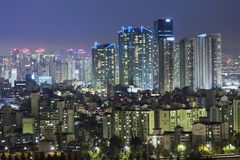 Vue de Séoul Corée du Sud Photos stock