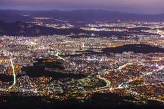 Vue de Séoul Corée du Sud Images libres de droits