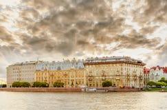 vue de saint de Pétersbourg image stock