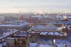 vue de saint de Pétersbourg Images libres de droits