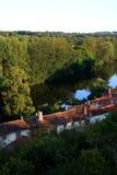 Vue de saint Germain de Confolens, France photos libres de droits