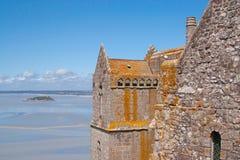 Vue de Saint-Michel de Mont Image stock