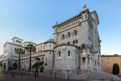 Vue de saint Nicholas Cathedral au Monaco images stock
