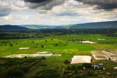 Vue de saison des pluies des montagnes du clou Doi Suthep 2 Photo libre de droits