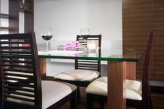 Vue de salle à manger Photo stock