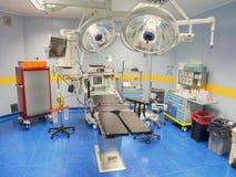 Vue de salle d'opération d'en haut Photo stock