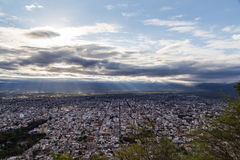 Vue de Salta de San Bernardo images stock